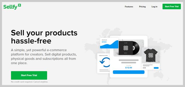 Sellfy - Ecommerce Platform