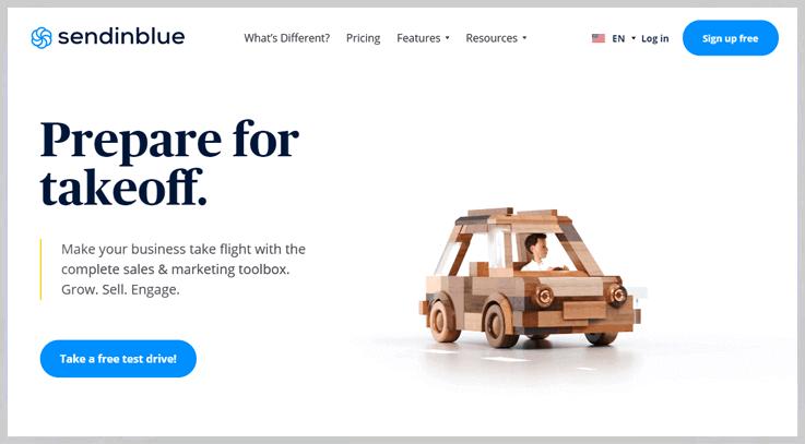 SendinBlue - Affordable Email Marketing