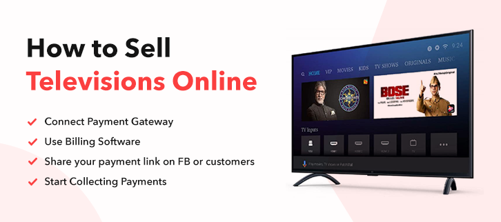 How To Sell Tv Online