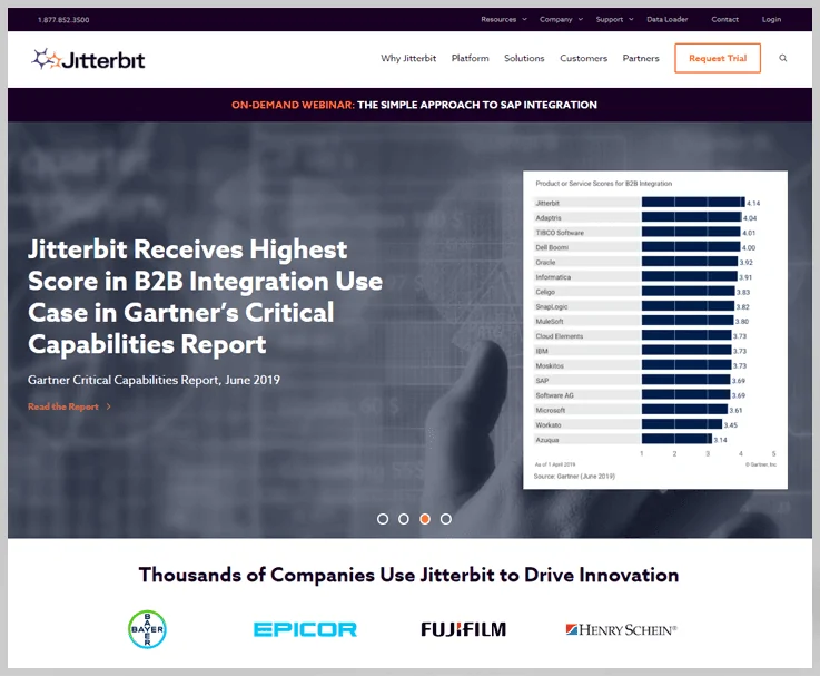 Jitterbit - B2B Integration Platform