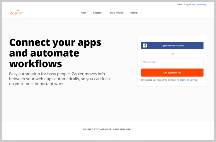 Zapier - Workflow Automation