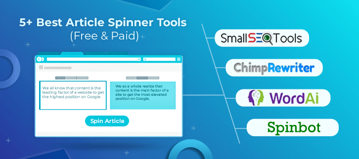 Article Spinner Tools