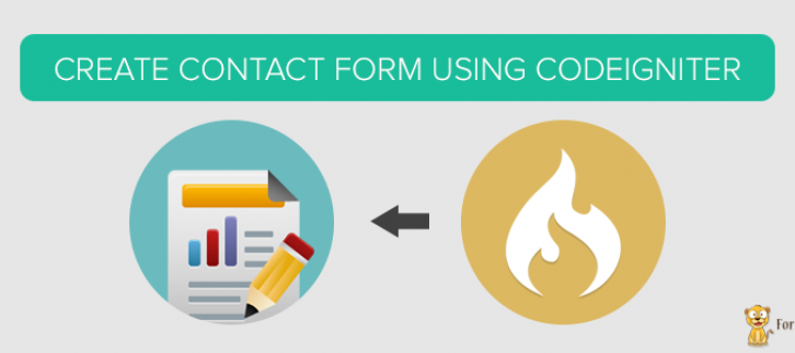 How to Create a Contact Form In CodeIgniter